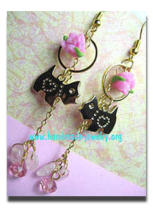 dog-charm-rose-quartz-earrings